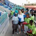 Kergejõustikuvõistluste viimasel päeval tuli saarlastele taas kaks medalit. Linda Treiel teenis kettaheite võiduga oma kolmanda kuldse medali ja Kaire Nurja sai hõbeda naiste kolmiküppes. Linda Treiel suutis võidutulemuse heita alles […]