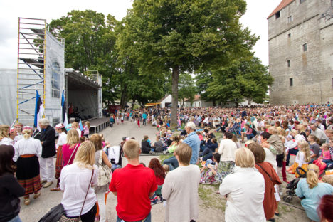 Vaba Rahva Laul pani tuhanded koos laulma