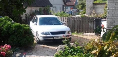 Varastatud auto leidjale 1000 eurot vaevatasu