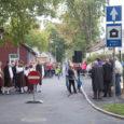 Eile õhtul avati renoveeritud Pärna tänav.