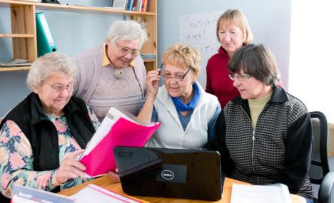 Tugikeskuse tegusad naised edendavad kohalikku elu
