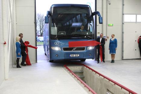GoBus avas uue bussihalli