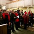 Reede õhtul toimus Kihelkonna neljas talvelaulupidu. Fotod: Irina Mägi