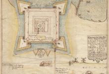"""KURESSAARE: G. von Schwengelni poolt 1641. aastal valmistatud linnuse plaanikohta öeldakse Kuressaare linnaatlases, et kaardil oli märgitud ka asjaolu, kuidas """"300 sammu kaugusel linnusest asuv alev on ebakorrapäraselt ehitatud"""". Foto: Saaremaa muuseum"""