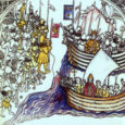 """Üks kõige viidatumaid tekstilõike Henriku Liivimaa kroonikast on """"Laula! Laula! Pappi"""" (eestikeelne tsitaat ladinakeelses tekstis). Nõnda lausunud saarlased aprillis 1215. Mis toimus? Pärast ülestõusmispüha sõitis tsistertslaste ordu preester Frederic koos […]"""