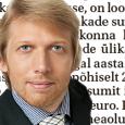 Eesti probleem pole mitte tööpuudus, vaid rikkuse ebaõiglane jaotuvus. Meie ühiskonna suurim õnn on siiani olnud see, et näiteks Kuressaares on veel piisavalt palju inimesi, kes tammsaarelikult armastavad oma erialast […]