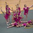 """Täna toimus Kuressaare spordihoones suur Gymnastica võimlemispidu """"Noorus liigub 2014""""."""