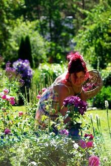 Riima  Randviir – loovisik,  taimetark ja ettevõtja. Foto: Sonja Randviir