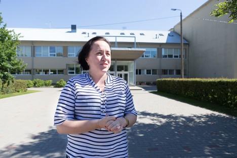 NÄITAS EESKUJU: Ärijuhtimise magistriõppe tegi läbi ka koolituskeskuse Osilia juhataja Margit Düüna. Foto: Sander Ilvest