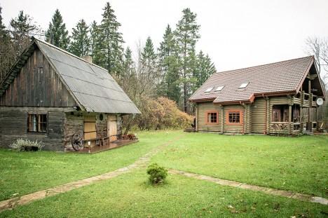 KENAKE SUVEMAJA: Kõrgeima hinnaga suvila Saaremaal asub Kärla vallas Käesla külas. Foto: Mari Pukk