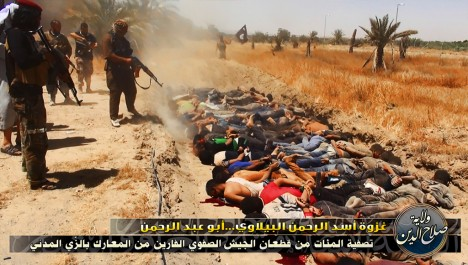 ŠOKEERIVAD VAATEPILDID: Maailma telekanalites on viimastel nädalatel näidatud kohutavaid pilte Islamiriigi terroristide tapatööst. Foto: Zerohedge.com