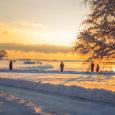 Saarte Hääle kaamerasilm püüdis 26. ja 27. detsembri lumemöllu ja selle järgnenud idüllilised vaated pildile. Fotod: Tambet Allik