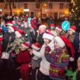 Esmaspäeva õhtul toimus Kuressaares üle-eestilise noorsootöönädala sissejuhatuseks päkapikkude jooks. Fotod: Irina Mägi