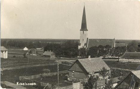 KIHELKONNA 1934. AASTAL: Kas Kihelkonna või Hara? Foto: Eesti filmiarhiiv