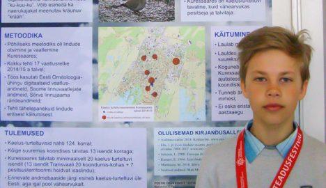 MARTIN VESBERG: Kaelus-turteltuvi uurimine oli põnev ülesanne. Foto: Inge vahter