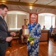 Traditsiooniline Kuressaare linna auks pühendatud golfivõistlus Kuressaare Open toimuslaupäeval ning päädis piduliku autasustamisega raekoja saalis. Fotod: Tambet Allik