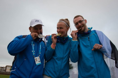 Medalivõitjad