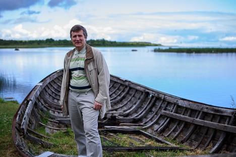 SÜDAMELÄHEDANE PAIK: Urmas Varblasele meeldib käia Maasi maalinnas. See on lihtsalt sedavõrd eriline paik, mis vääriks kahtlemata rohkem tähelepanu, kui see seni saanud on. Foto: Tambet Allik