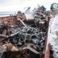 """Politsei- ja piirivalveamet teatas eile, et Volare vrakilt korjati kokku 15 m3 rasket kütteõli ja sellega saastunud pinnast ning 33 tonni naftaproduktiga saastunud metalli. """"Kuigi vraki topeltpõhja vahel võib masuudijääke […]"""