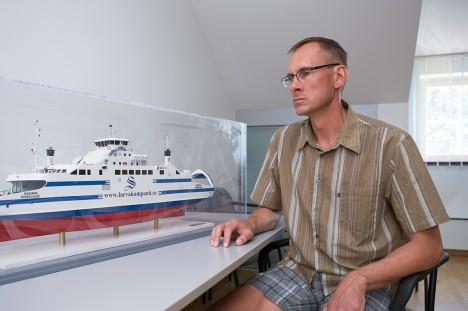 """MURELIK PILK TULEVIKKU: Väinamere Liinid juhataja Urmas Treiel kirjeldab oma artiklis """"Väinamere liikluse arenguteed"""" detailselt tehtut ja kirjutab ka tulevikuvisioonidest. Foto: arhiiv"""