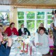 Saaremaa Toidufestivali raames toimus Nasval Tihemetsa talus suur angerjasupi õhtusöök. Fotod: Irina Mägi