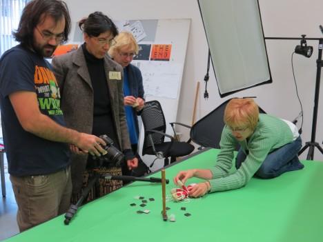 ANIMEERIMAS: Margus Lepik, Anna Sui, Ene Pidmann ja Merle Lepik eelmisel aastal Kuressaare animapäevadel. RUTH-HELENE MELIORANSKI