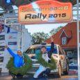 """Nädalavahetusel sõidetud Saaremaa ralli võitjatena finišeerisid hooaja teise rallivõidu võtnud Egon Kaur ja Annika Arnek (Mitsubishi Lancer Evo IX).  """"Lõpptulemuse mõttes ideaalne ralli, kuid meil oli võistlusel palju takistusi […]"""