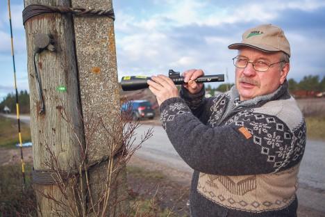 HUMAANNE VAHEND: Aivar Lember on rahul, et laser on hääletu aga tõhus tööriist. TAMBET ALLIK