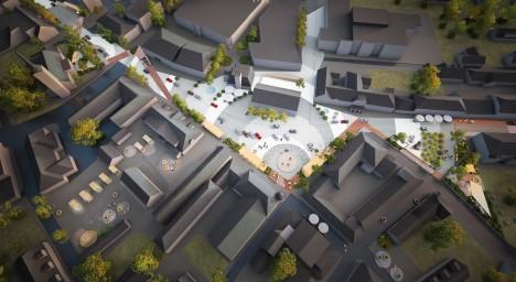 """3) Ergutuspreemia – """"Saare murded"""" Arhitekt Must OÜ, ideekavandi autorid Ott Alver, Alvin Järving, Mari Rass, Kaidi Põder"""