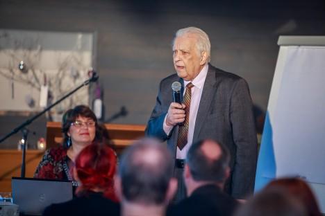 """SAAREMAA ONGI ULTIMA THULE: Eilsel konverentsil põhjendas raamatu """"Teekond maailma ääreni"""" autor Raul Talvik, miks ta peab just Saaremaad müütiliseks Ultima Thuleks. TAMBET ALLIK"""