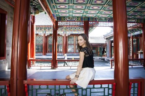 KAUGEL HIINAS: Saarlane Kai Kreos Pekingis asuvas Suvepalees.  ERAKOGU