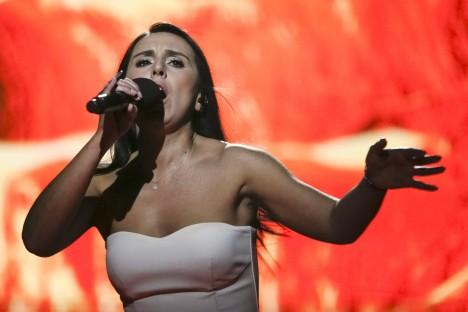 """SOOSIK: Krimmitatarlanna Jamala esindab sel aastal Ukrainat Eurovisioni lauluvõistlusel. Tema kirjutatud laul """"1944"""" räägib lauljanna esivanemate karmist saatusest stalinliku režiimi ajal. ESCTODAY.COM"""