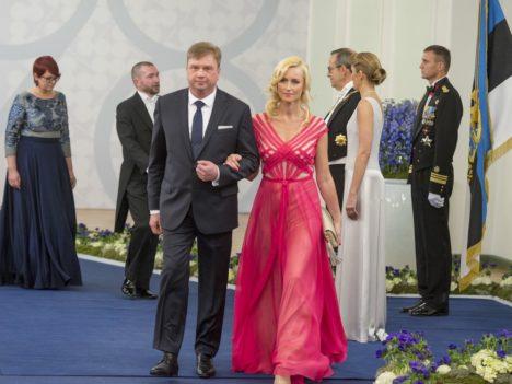 Saaremaa Delifoodi omanikud Margus Puust ja Sirle Puust. (Foto: Andres Putting / presidendi kantselei)