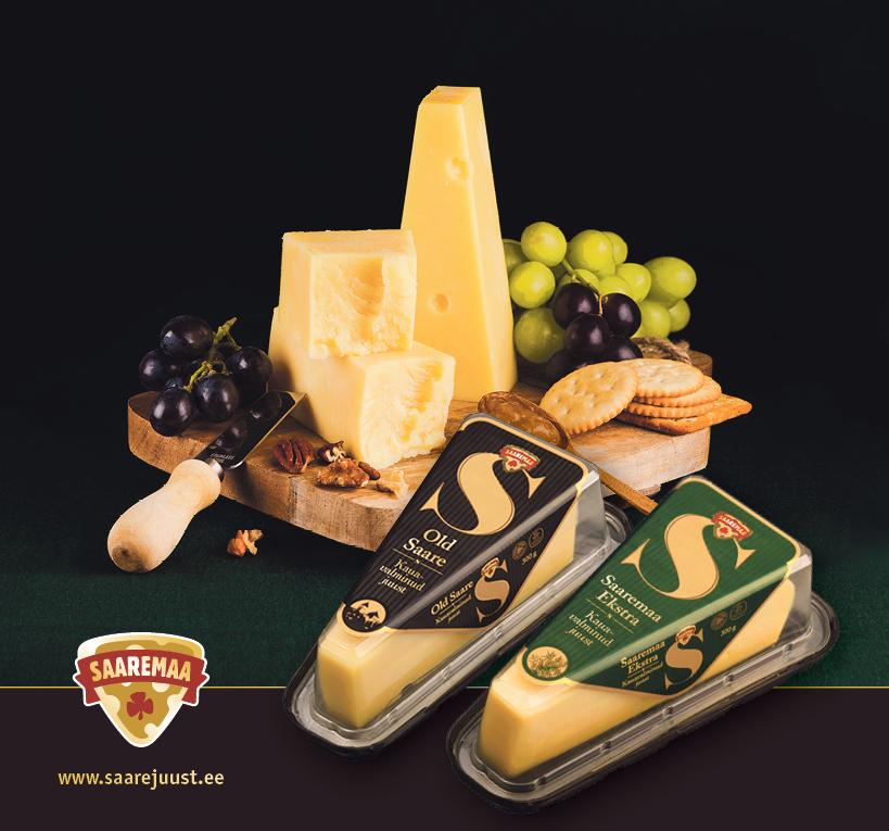 Eesti Vabariigi aastapäevaks on Saaremaa Piimatööstuse Vana-Gouda juustud Old Saare ning Saaremaa Ekstra saanud uued ja pidulikud kuued. Saaremaa Piimatööstuse juhatuse esimees Ülo Kivine rääkis, et Old Saare ning Saaremaa […]