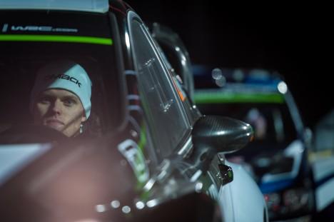 NELJAS KOHT: Ott Tänak ja Raigo Mõlder võisid autoralli  MM-i avapäevaga Rootsis rahule jääda.