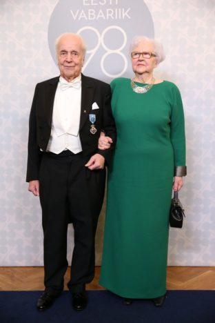 Eesti Memento Liidu juhatuse esimees Leo Õispuu ja Silvia Õispuu. (Foto Erlend Staub / Postimees)