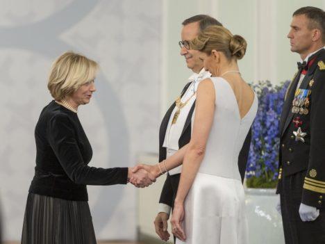 Riigikogu liige Urve Tiidus.  (Foto Andres Putting / Presidendi kantselei)