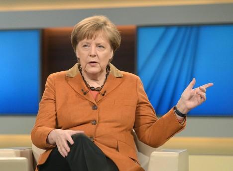 KINDLAL KURSIL: Saksamaa liidukantsler Angela Merkel teab kindlalt, kuidas Euroopat tabanud rändekriisi lahendada. Võetud kursist ta taganeda ei kavatse. FOCUS.DE