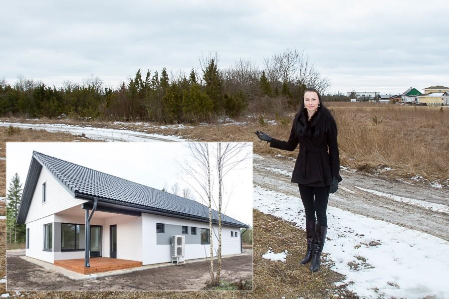 """LVM Kinnisvara asub juba tänavu Kuressaare külje alla Kudjape külla rajama uut elurajooni, mille energiatõhusate eramute hind oleks kuni 100000 eurot. """"Piirkonna fookus on energiatõhususe ja ühtse arhitektuurse võtme kõrval […]"""