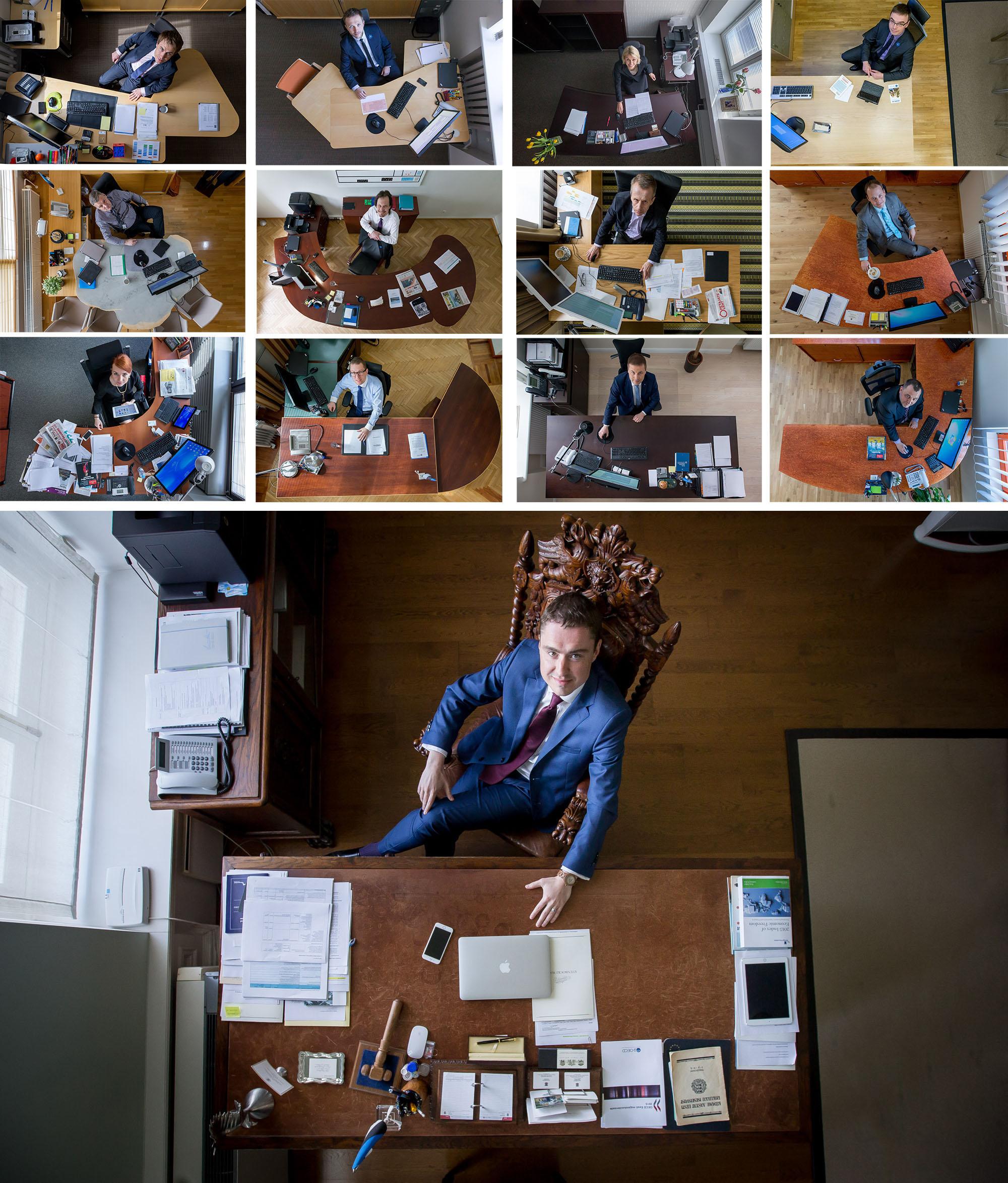 Täna avalikustati Tallinnas aasta pressifoto võitjad. Portreede kategoorias tunnistati parimaks Sander Ilvest Postimehest. Auhinna vääriliseks tunnistati Ilvesti seeria värskelt ametisse saanud ministritest nende töölaua taga. Sander Ilvesti pressifotograafikarjäär sai alguse […]
