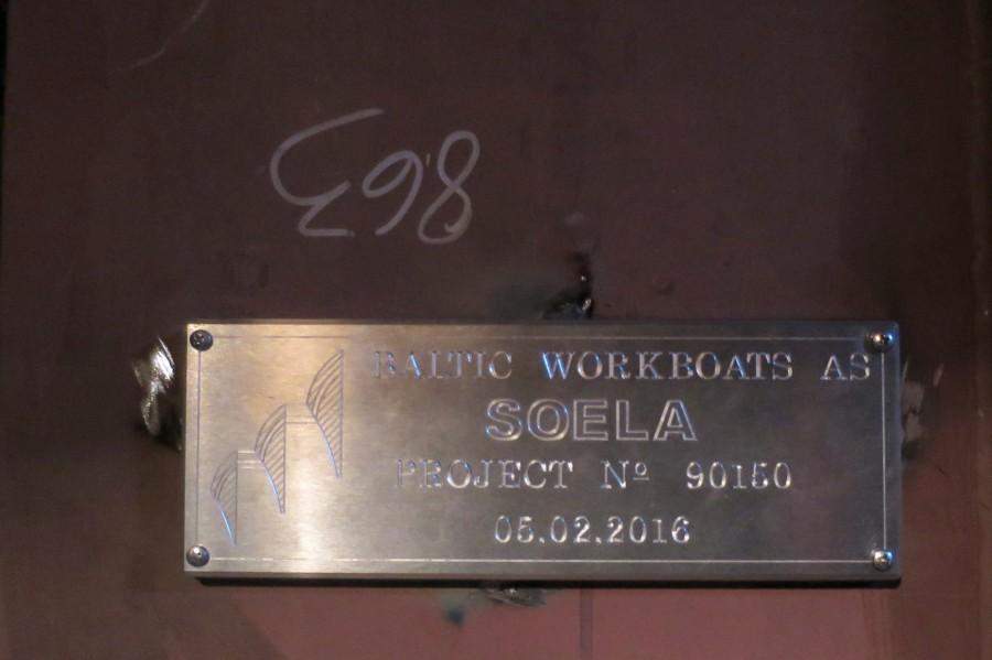 Baltic Workboats AS-i Riia tootmisüksuses lasti vette parvlaev Soela teraskorpus. Soela pukseeritakse Saaremaale eeldatavasti 20. märtsi paiku ja millele hakatakse Nasva sadamas peatselt pealisehitist paigaldama. Parvlaeva valmimine on jätkuvalt graafikus […]