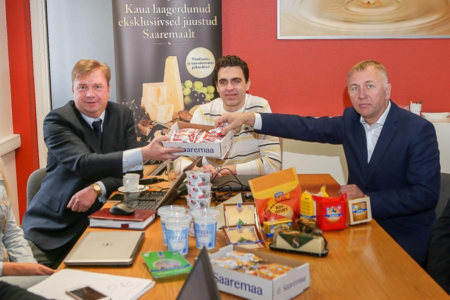 Ühe õue peal asuvad Saaremaa piimatööstus ja Saaremaa DeliFood otsustasid mullu koostööd tihendada – kuna omavahel ei konkureerita, siis miks mitte müügimehed koos tööle panna. Mõeldud, tehtud. Saaremaa Piimatööstus AS […]