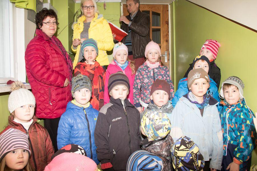 Täna ennelõunal toimus Kuressaares Pargi lasteaias evakuatsiooniõppus.
