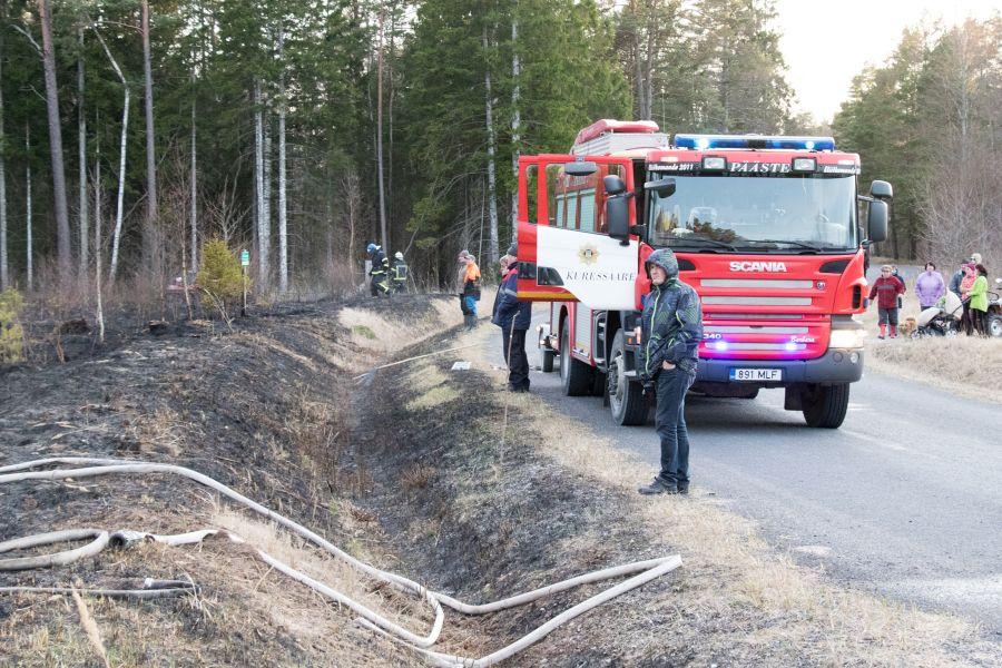 Kolmapäeval kell 19.12 sai häirekeskus teate maastikupõlengust Leisi vallas Murika külas. Teataja sõnul põlesid eluhoonete lähedal kulu ja mets ning tuul oli tugev. Kulu ja turbane pinnas põlesid elektriliinide all […]
