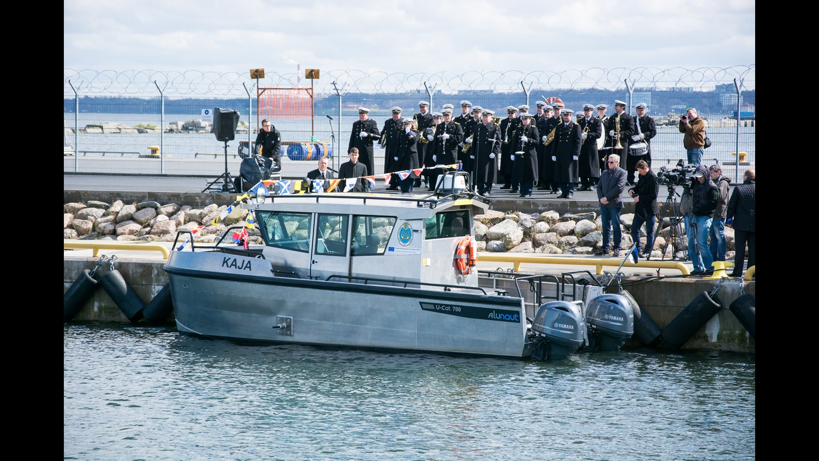 Tallinnas Hundipea sadamas esitleti eile veeteede ameti uut mõõdistuslaeva Kaja, mis ehitati valmis Saaremaa laevaehitusfirmas Alunaut. Eile toimus mõõdistuslaeva teenistusse pühitsemise ja nimeandmise tseremoonia. Laeva ristiemaks oli palutud pika staažiga […]