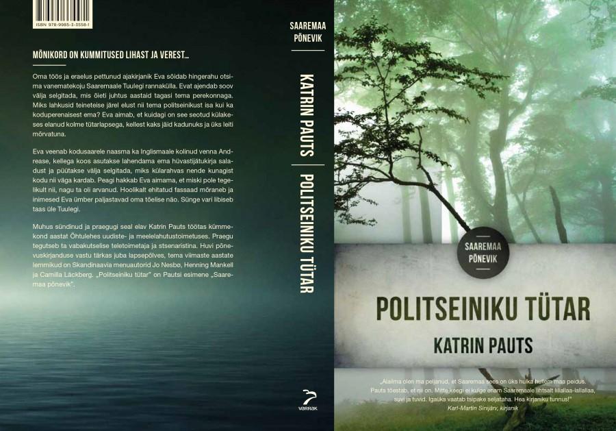 """Ajakirjanik Katrin Pautsi esikromaan """"Politseiniku tütar"""" ilmub kirjastuse Varrak väljaandel aprilli lõpupäevil. Autor ise loodab, et Saaremaa sobib ka edaspidi hästi roimajuttude tallermaaks. """"Saaremaast võib Eesti oma Midsomer saada küll,"""" […]"""