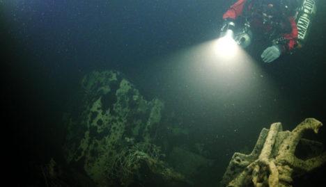 Allveelaeva vrakk leiti SubZone Oy otsingute käigus 12.08.2015.