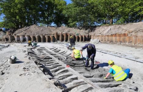 Viljo vraki arheoloogilised väljakaevamised. Maili Roio 2015.