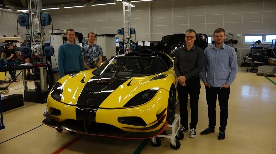 """Eesti noored spetsialistid ehitavad Rootsis Koenigseggi tööstuses maailma sõgedamaid ja seksikamaid sportautosid. Nn ratastel hübriidrakettide inseneride hulka kuulub ka Saaremaalt pärit 25-aastane Indrek Hioväin. Kolmapäevaõhtune """"Pealtnägija"""" saade tõi välja, et […]"""