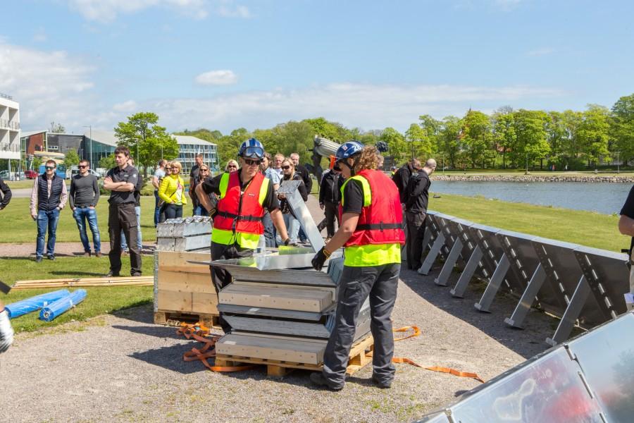 Rahvusvahelise üleujutusõppusega EuroModex seotult saabus Saaremaale üle 200 osavõtja. Abimeeskonnad tulid Rumeeniast, kaks meeskonda Rootsist ning logistikameeskond, kes püstitas vallikraavi äärde baaslaagri, Lätist. Lisaks neile on kohal suur hulk hindajaid […]
